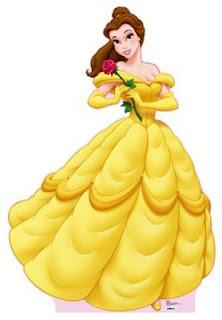 Bella kolejna księżniczka na paznokciach