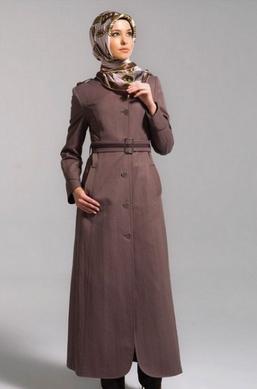 Fashion 2017 gamis - Aneka Contoh Desain Baju Kerja Muslim Terbaru 2017