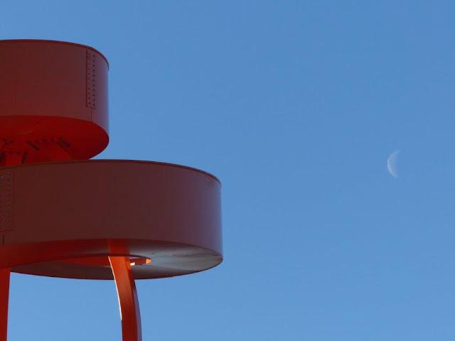 Lippepark Hamm Haldenzeichen orangene Spirale Schacht Franz Ruhrgebiet Ruhrpott Industriekultur Ausflug Halde