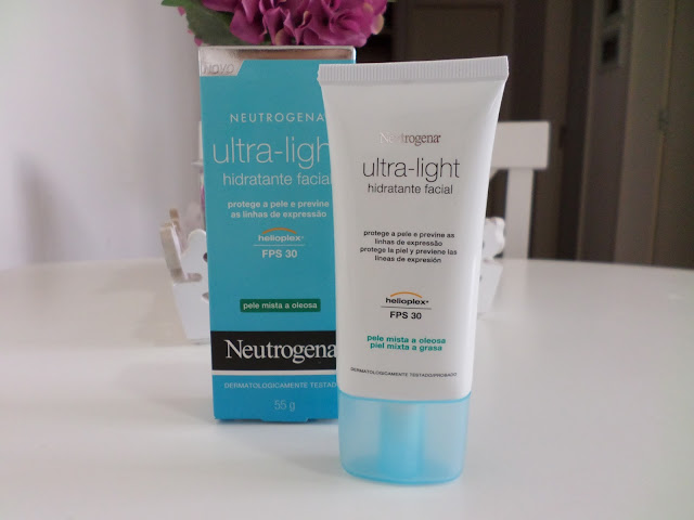 Hidratante Facial Neutrogena Ultra-Light FPS 30 para pele Mista e Oleosa