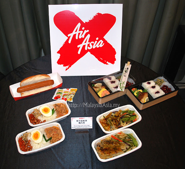 Inflight Menu AirAsia X