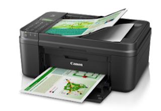 Der All-in-One-Drucker Canon PIXMA MX497 bietet Farbdruck-, Farbscan-, Farbkopier- und Farbfax-Funktionen in einem einzigen Gehäuse