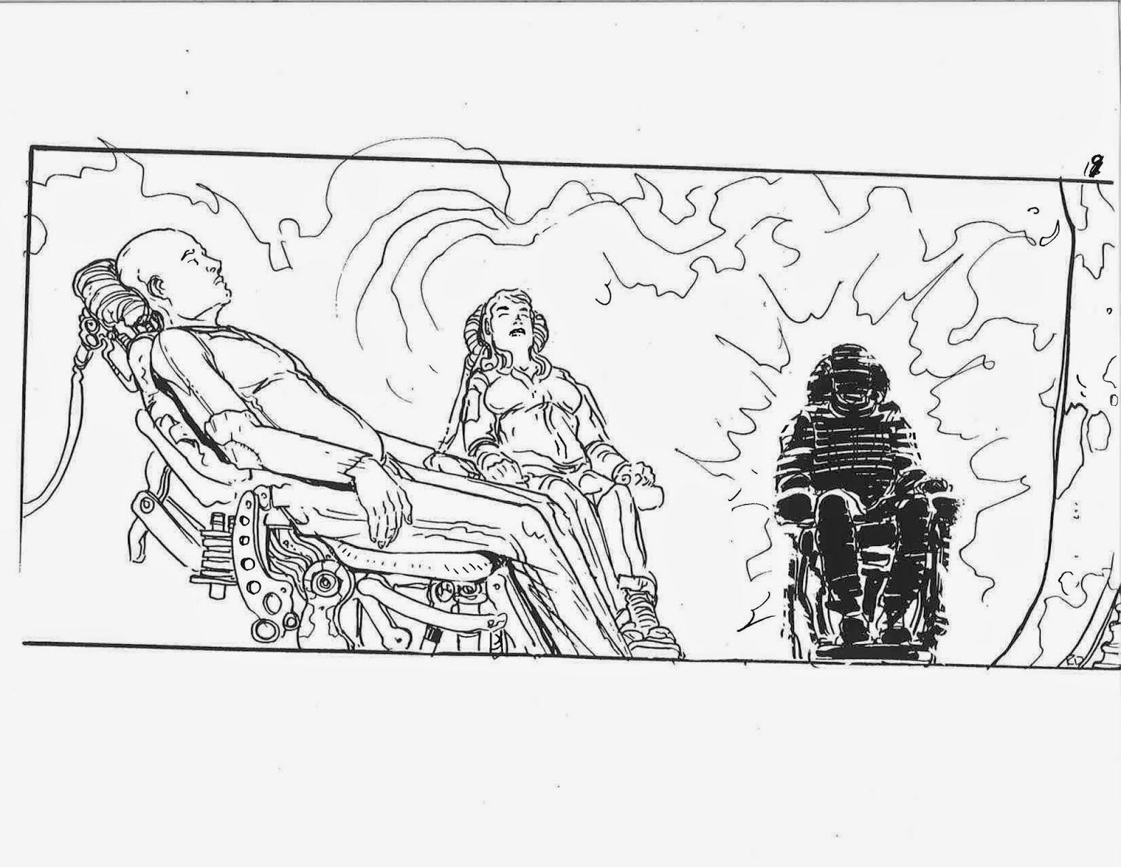 Ricardo Delgado's blog: Matrix storyboards doubleheader!