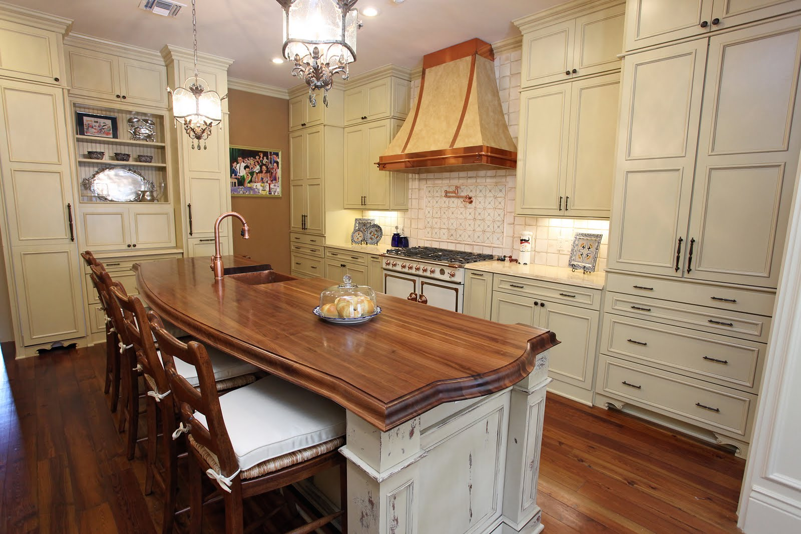 Granite Countertops New Orleans The Art Of The Kitchen A New Orleans Style French Country