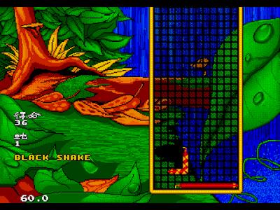 【MD】野蛇方塊(Wild Snake),結合貪食蛇與俄羅斯方塊的益智遊戲!