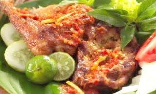 Resep Masakan Ayam Penyet Sambal Korek
