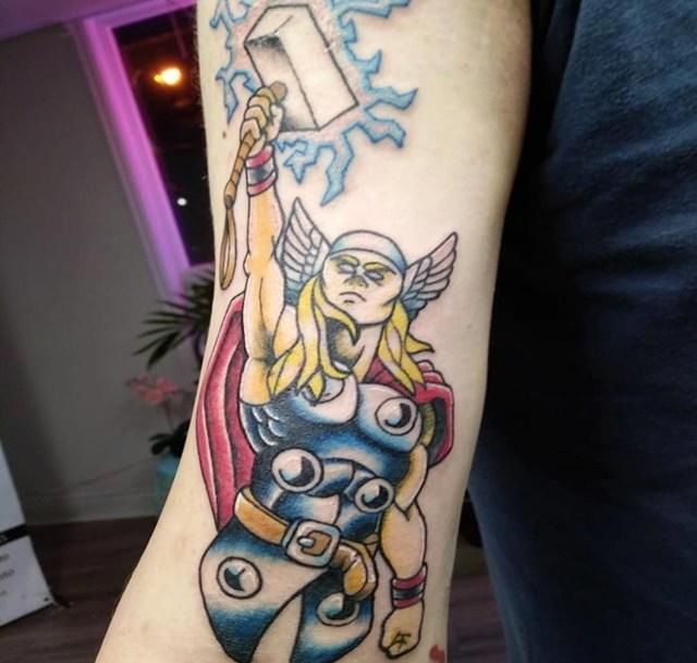 Gambar Tato Thor Terbaru Paling Keren Untuk Cewek Dan Cowok