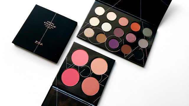 Zoeva Spectrum Collection Review, The Zoeva Spectrum Collection Is Out Of This World, Zoeva Warm Spectrum Eyeshadow Palette, Zoeva Coral Spectrum Blush Palette