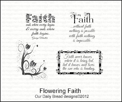 Our Daily Bread designs Flowering Faith