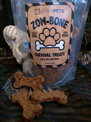 Loot Crate chicken dog treats