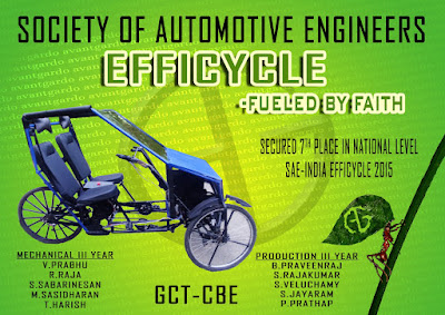 efficycle 2015 rulebook Effi-cycle 2015 design report team id : 15107 team name : naturo riders college name : motilal nehru national institute of technology city : allahabad.