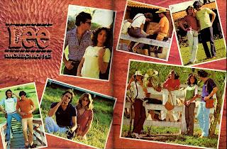 propaganda Lee - 1978. moda anos 70; propaganda anos 70; história da década de 70; reclames anos 70; brazil in the 70s; Oswaldo Hernandez