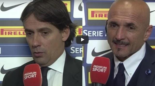 Inter Lazio 0-0: interviste a Spalletti e Inzaghi post partita