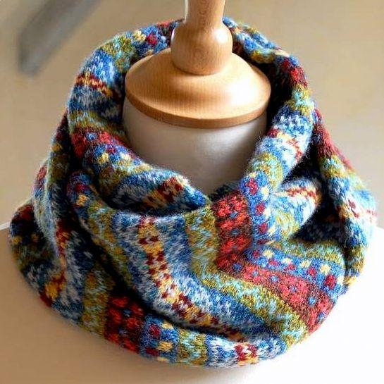 вязание ажурные шарфы снуды