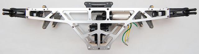 Tamiya TXT-1 chassis assembly