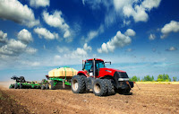Tractor in a field (stock image) (Credit: © Vitaly Krivosheev / Fotolia) Click to Enlarge.