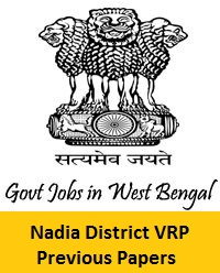 Nadia District VRP Previous Papers