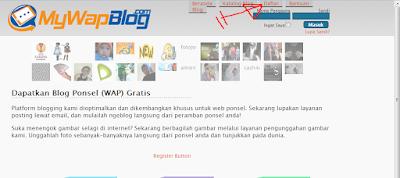 Cara Mudah Membuat Situs Di Mywapblog