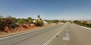 Uma testemunha em Murrieta, CA, na foto, viu um objeto em 18 de Junho, de 2014,  (Crédito: Google)