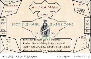 SYAIR SGP, PREDIKSI TOGEL KODE SYAIR SINGAPORE MINGGU