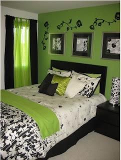 dormitorios con colorido bonito, como alegrar las paredes del dormitorio