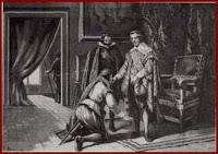 Humillación del duque ante Felipe IV