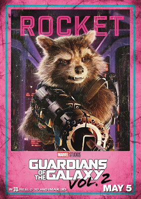 Marvel's Guardians of the Galaxy Vol. 2 Character Movie Poster Set - Rocket Raccoon