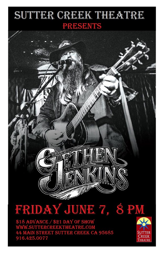 Sutter Creek Theater: Gethen Jenkins - Fri June 7