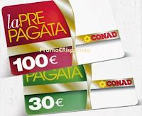 Logo Con Conad e Coca-Cola vinci buoni spesa da 30 o da 100 euro