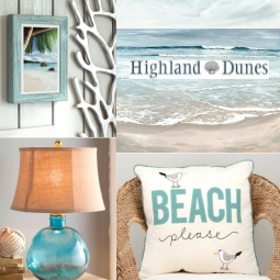 Coastal Beach Decor Highland Dunes