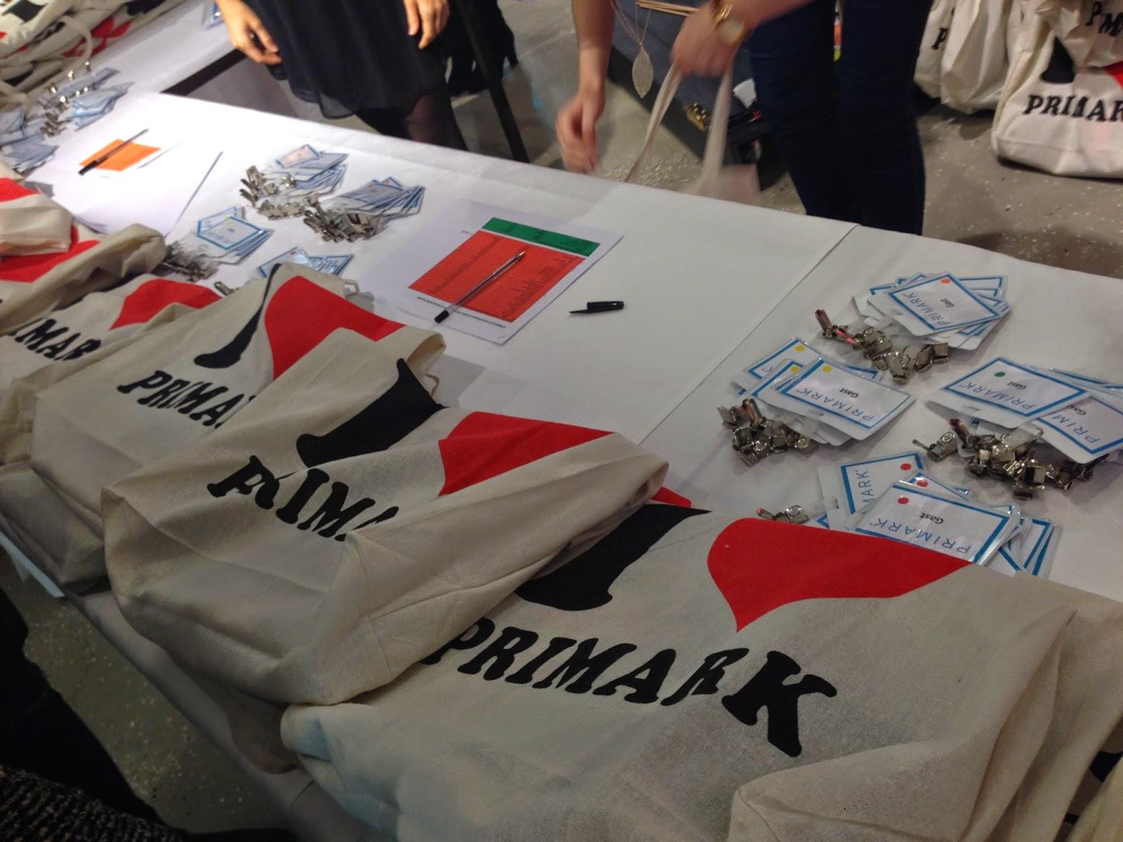 Goodie Bag von Primark
