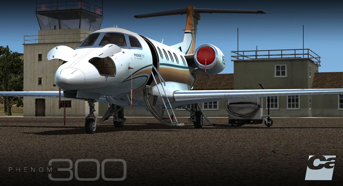 Download Aircraft Carenado Embraer EMB505 Phenom 300HD #FSX #P3D
