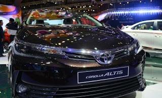 Giá xe Toyota Vios, Altis tháng 102017