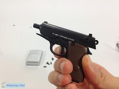 Tiny toy pistol like real