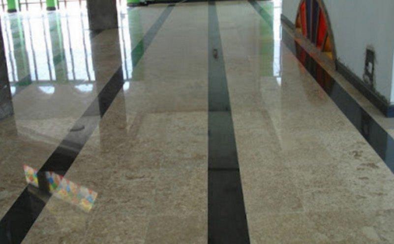 model granit untuk lantai ruang tamu kreatif