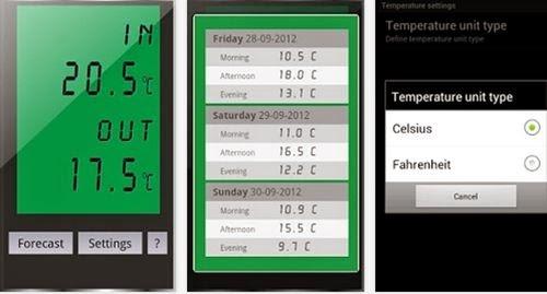 aplikasi pengukur suhu udara android