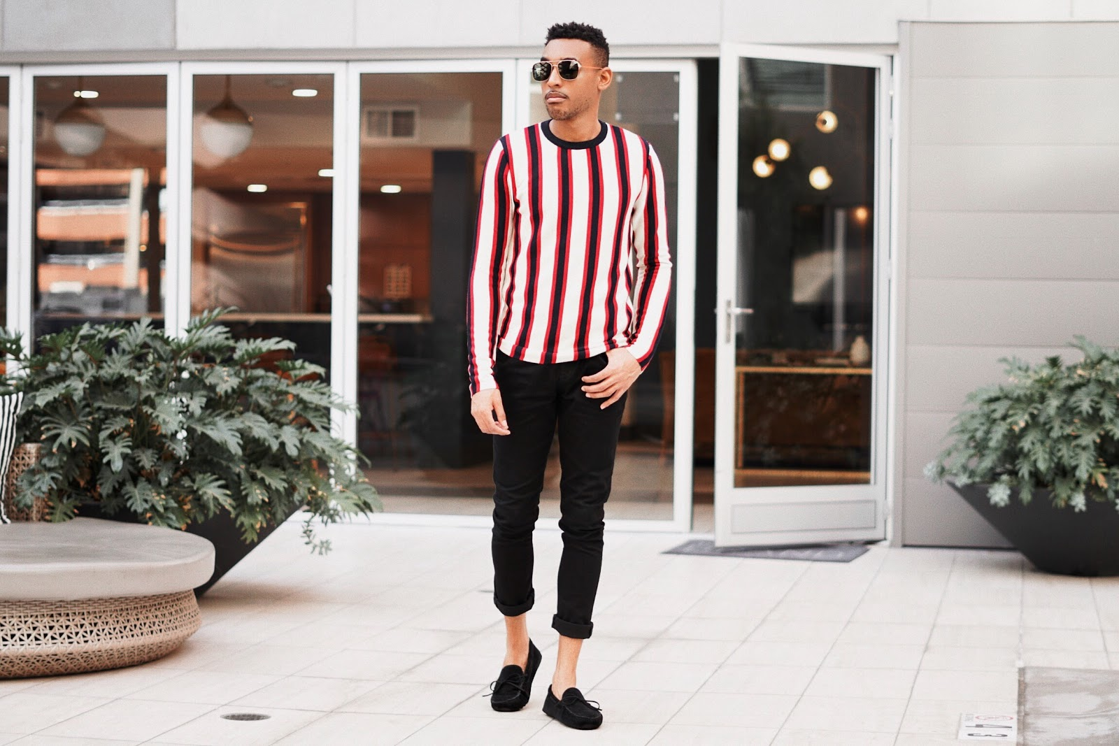 stripe sweaters for men striped sweaters mens fashion mens style vertical stripe sweater sweaters for men menswear sweaters