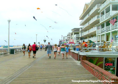 Fun-Filled Boardwalk in Ocean City Maryland