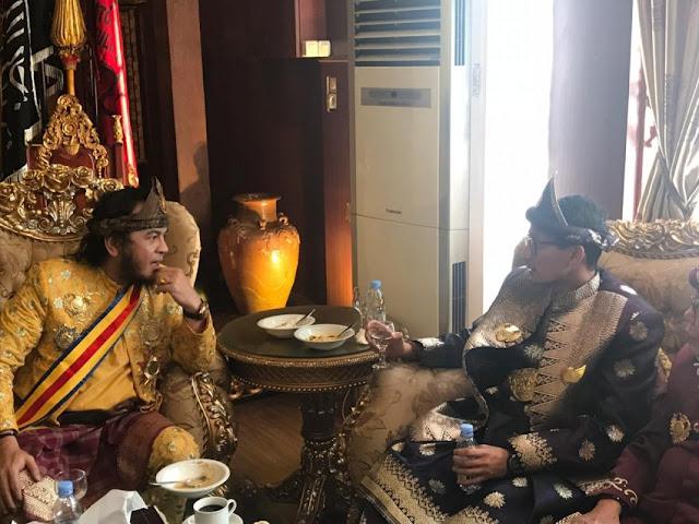 Pilpres 2019, Sultan Palembang Dukung Sandiaga