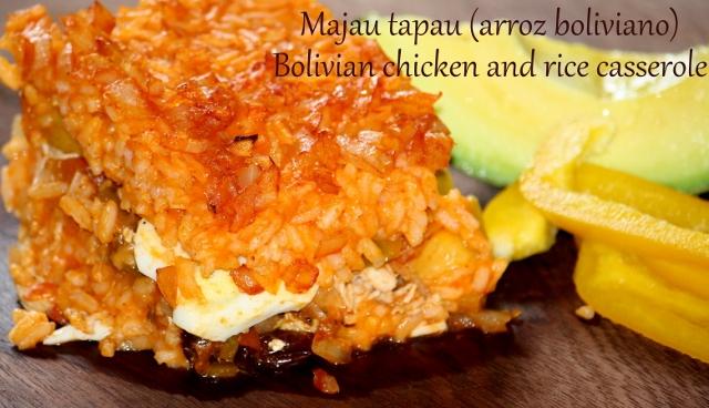 Llajua (salsa picante boliviana / Spicy bolivian sauce)