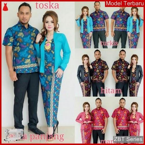 ZBT09609 Kebaya Batik Couple Ayra Panjang Rok BMGShop