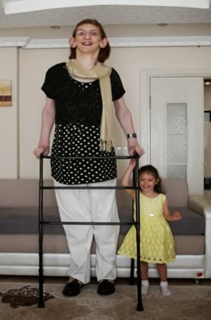 Mujer mas alta del mundo