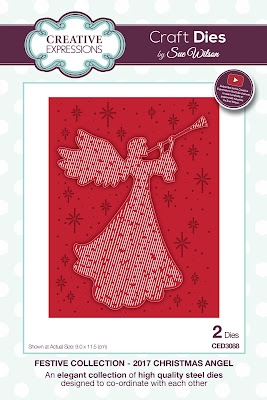 Festive Collection 2017 Christmas Angel Dies - CED3088