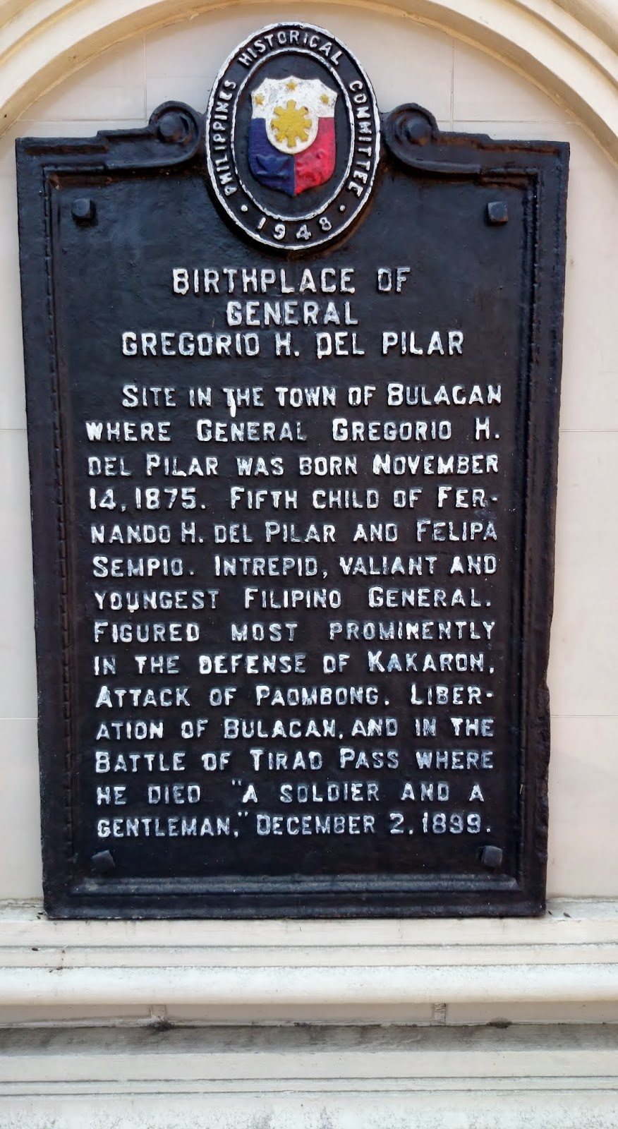 Beto Reyes Blog: The Enriquez Family of Bulakan, Bulacan