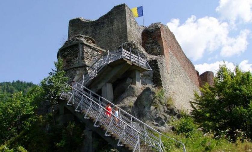 Poenari Castle, Romania