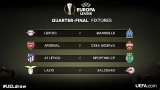 Jadwal Liga Europa - Siaran Langsung SCTV Arsenal vs CSKA Moskow