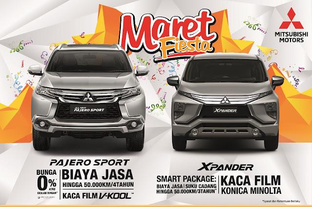 Program penjualan Mitsubishi Tangerang di bulan Maret