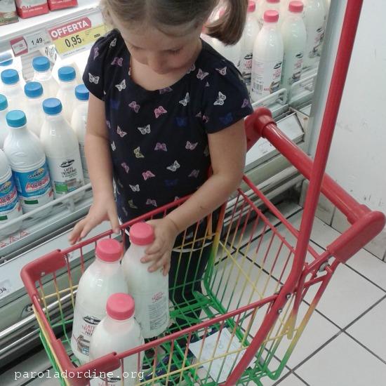 paroladordine spesa figli