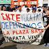 Caos vial y niños sin clases, saldo de manifestación supuestamente magisterial en Mérida