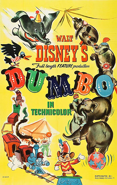 Dumbo 1941 Disney movie poster